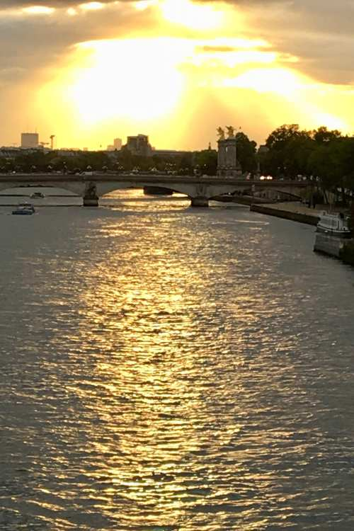 Paris--The Seine