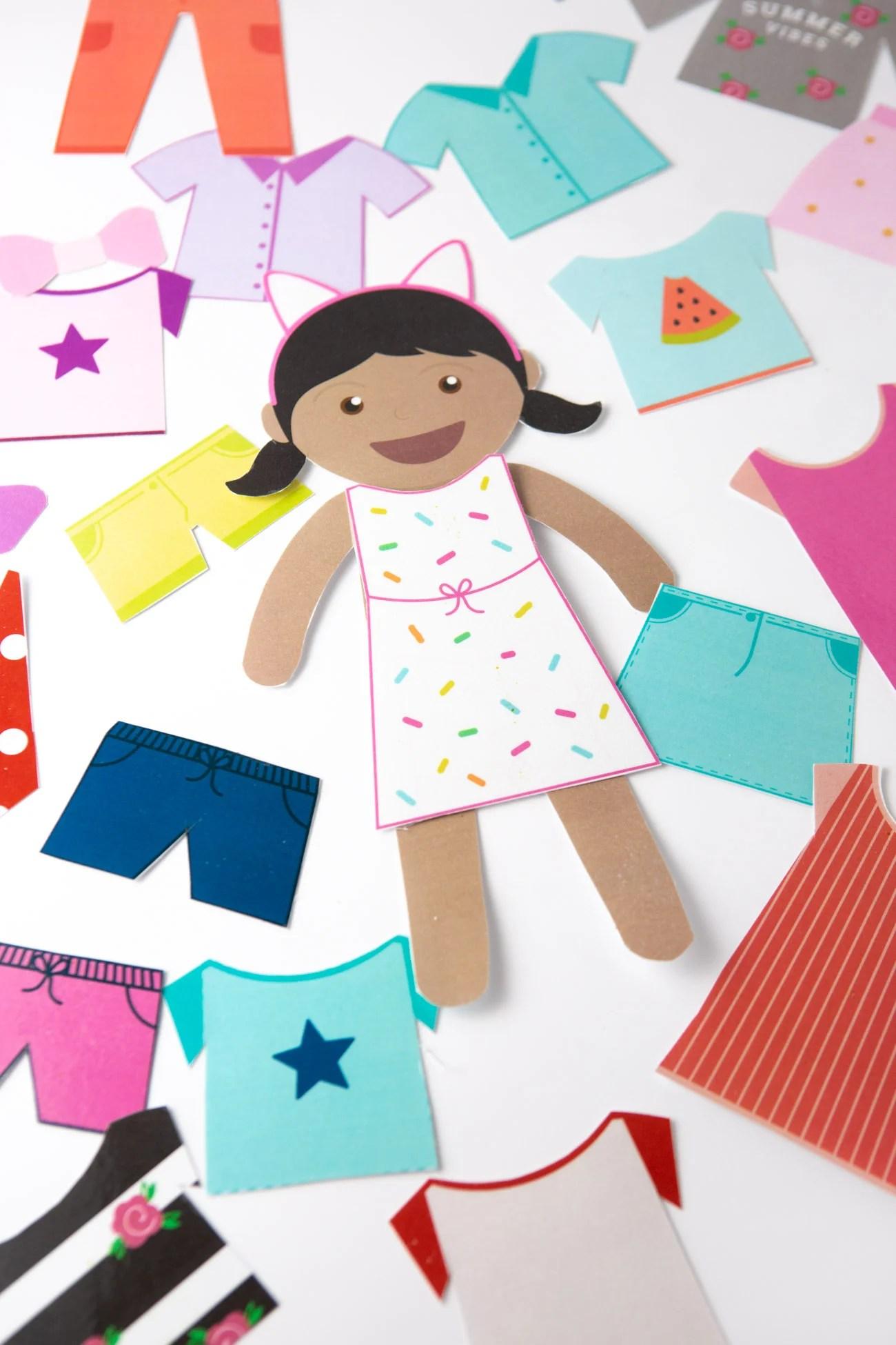 Doll Worksheet Printables