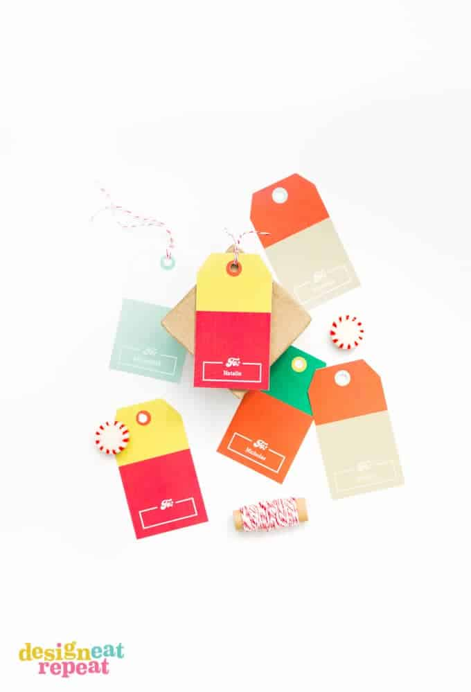Free Printable Gift Tags! Versatile colors make these perfect for any occassion!