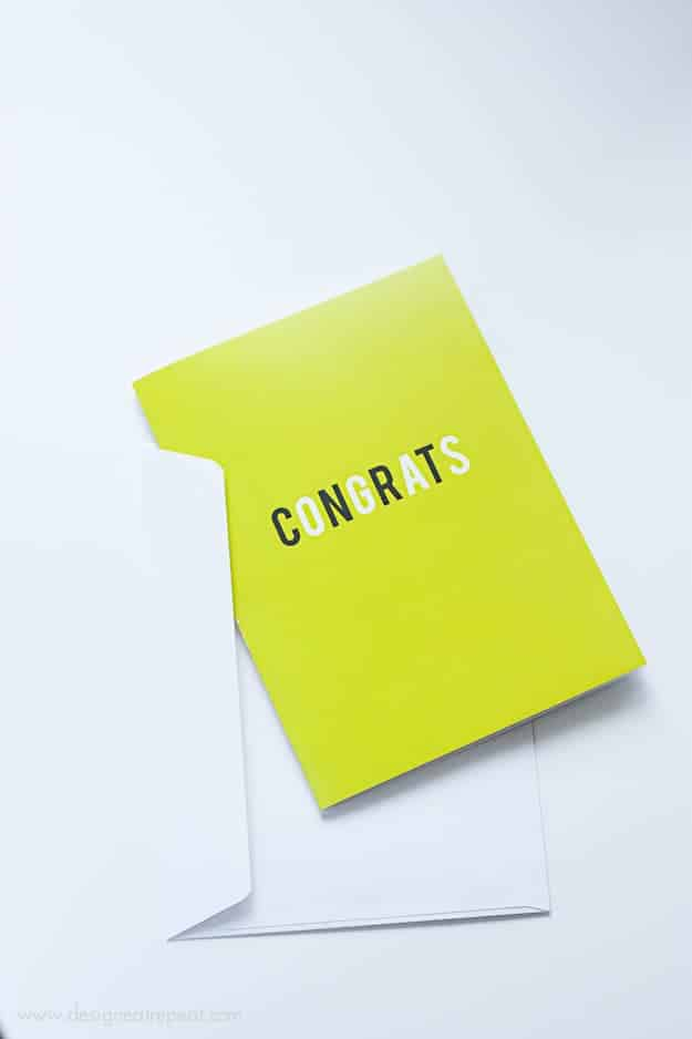 Free Printable Congrats Cards | Set of 3 to download & perfect for any celebratory occasion! | From Design Eat Repeat