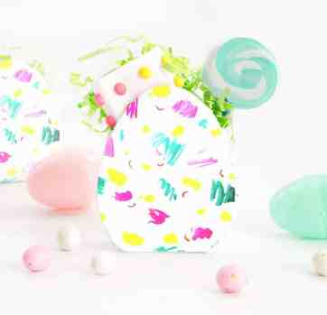Printable Easter Egg Candy Boxes