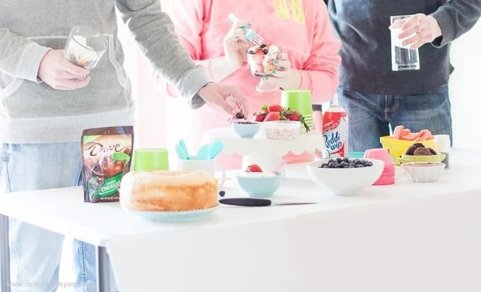 How to put together a light springtime Trifle Party!