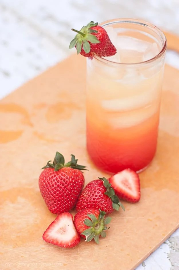 Summer Spritzer | Use Orange Juice, Lemon-Lime Soda, and Grenadine (So Easy to Make!) | Design Eat Repeat