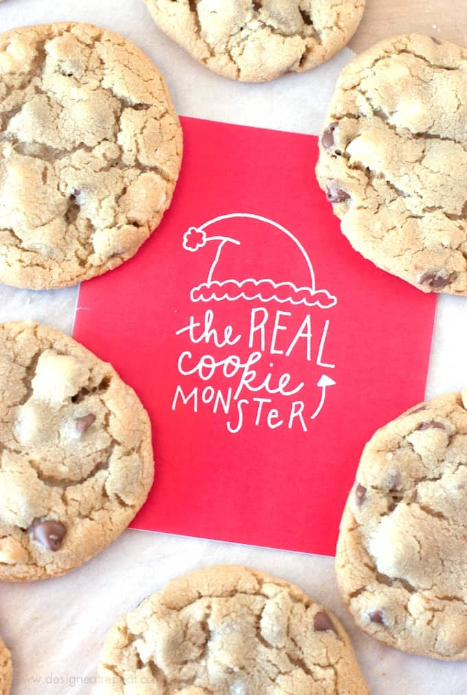 The-Real-Cookie-Monster-Free-Printable-Christmas-Card