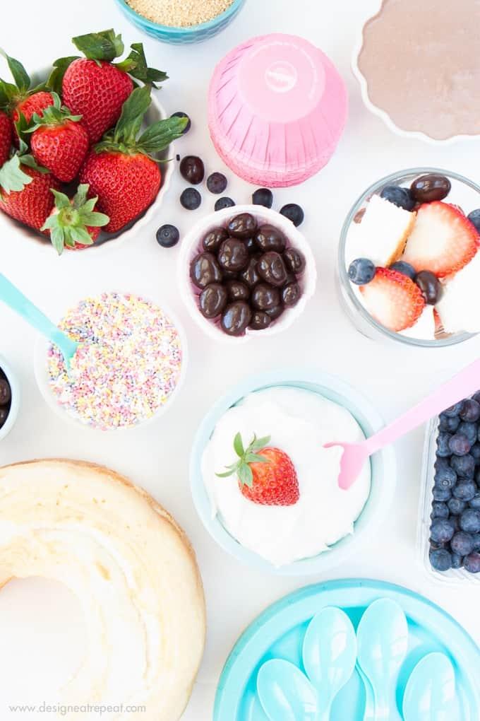 Topping ideas to make a killer DIY Trifle Bar!