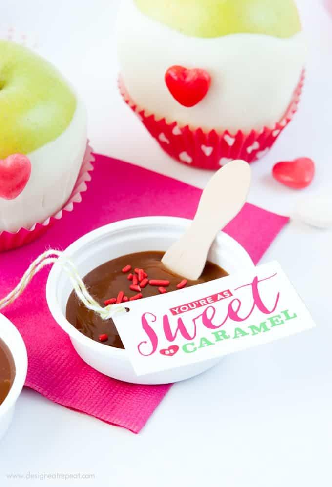 Valentine's Day Caramel Apple Kit