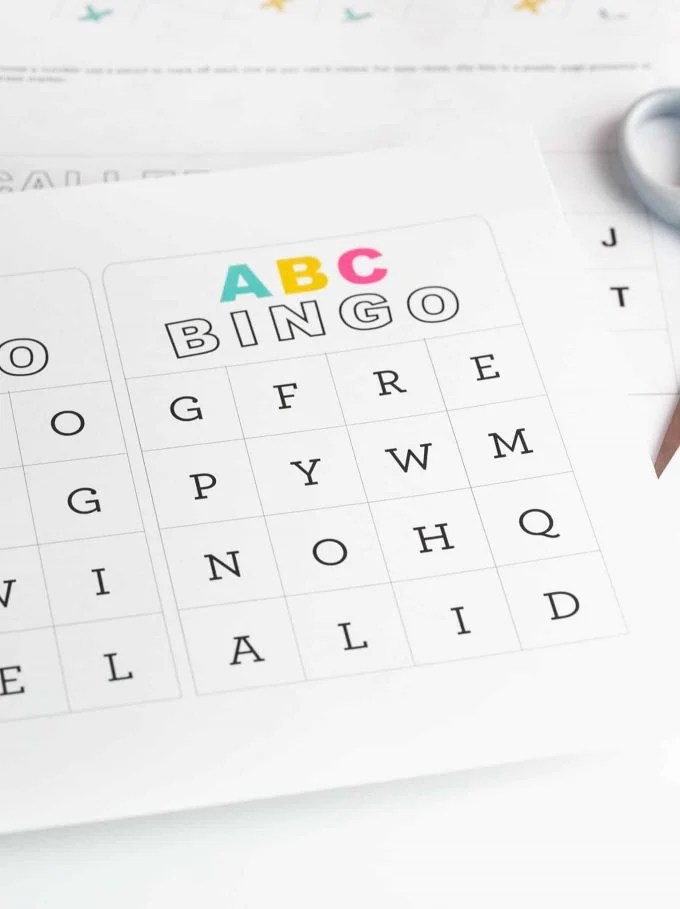 Letter Bingo Pdf Jidiletters Co