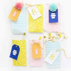 Confetti Pattern Printable Treat Bags