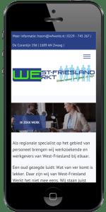 Iphone afbeelding Westfriesland Werkt