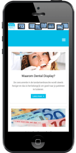 Iphone afbeelding Dental Display