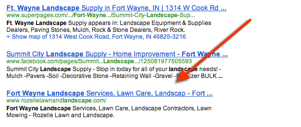 Fort Wayne Landscape Google Results - Rozelle Lawn and Landscape