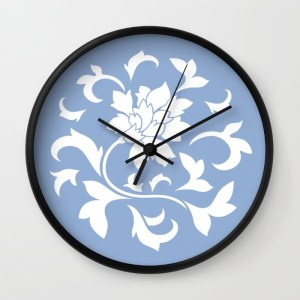 oriental-flower-serenity-blue-wall-clocks