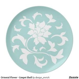 oriental_flower_limpet_shell_melamine_plate_1