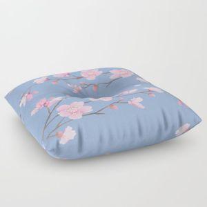 cherry-blossom-serenity-floor-pillows