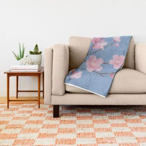 cherry-blossom-serenity-throw-blankets (2)
