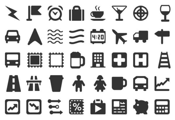 Web Hosting Hub glyphs