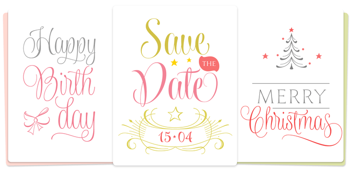 8 Awesome Ribbon Fonts