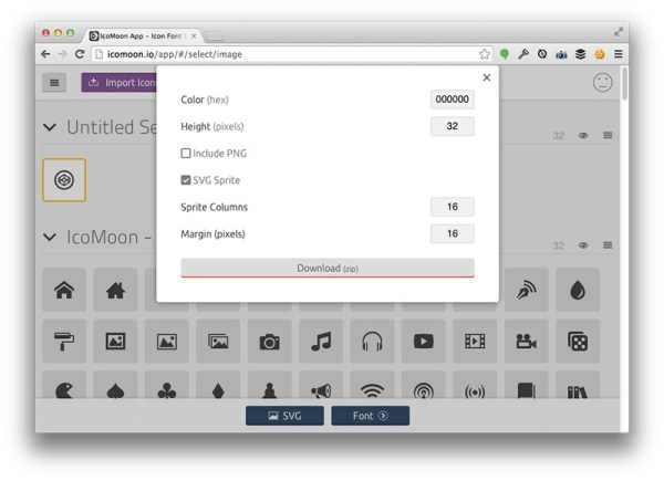 Icon System With SVG Sprites