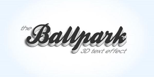 Create A Modern 3D Text Effect