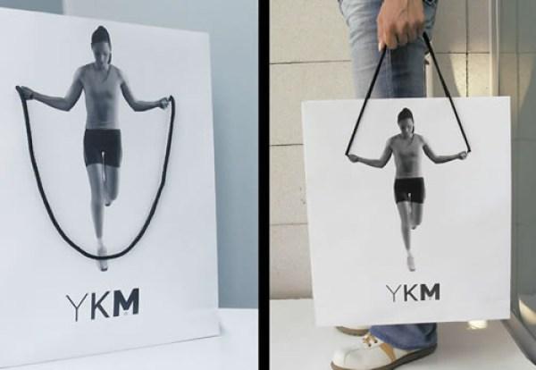 Un bolso de compras de la aptitud de inspiración.