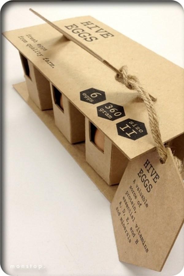embalaje de protección de huevo