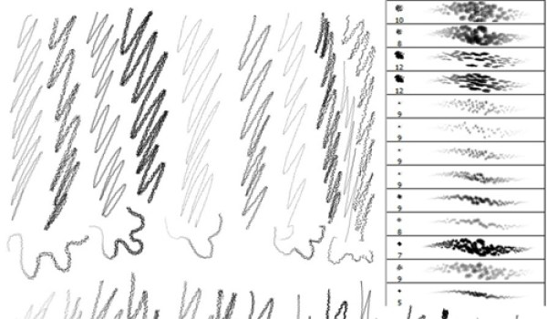 Pencil Brushes – PS7