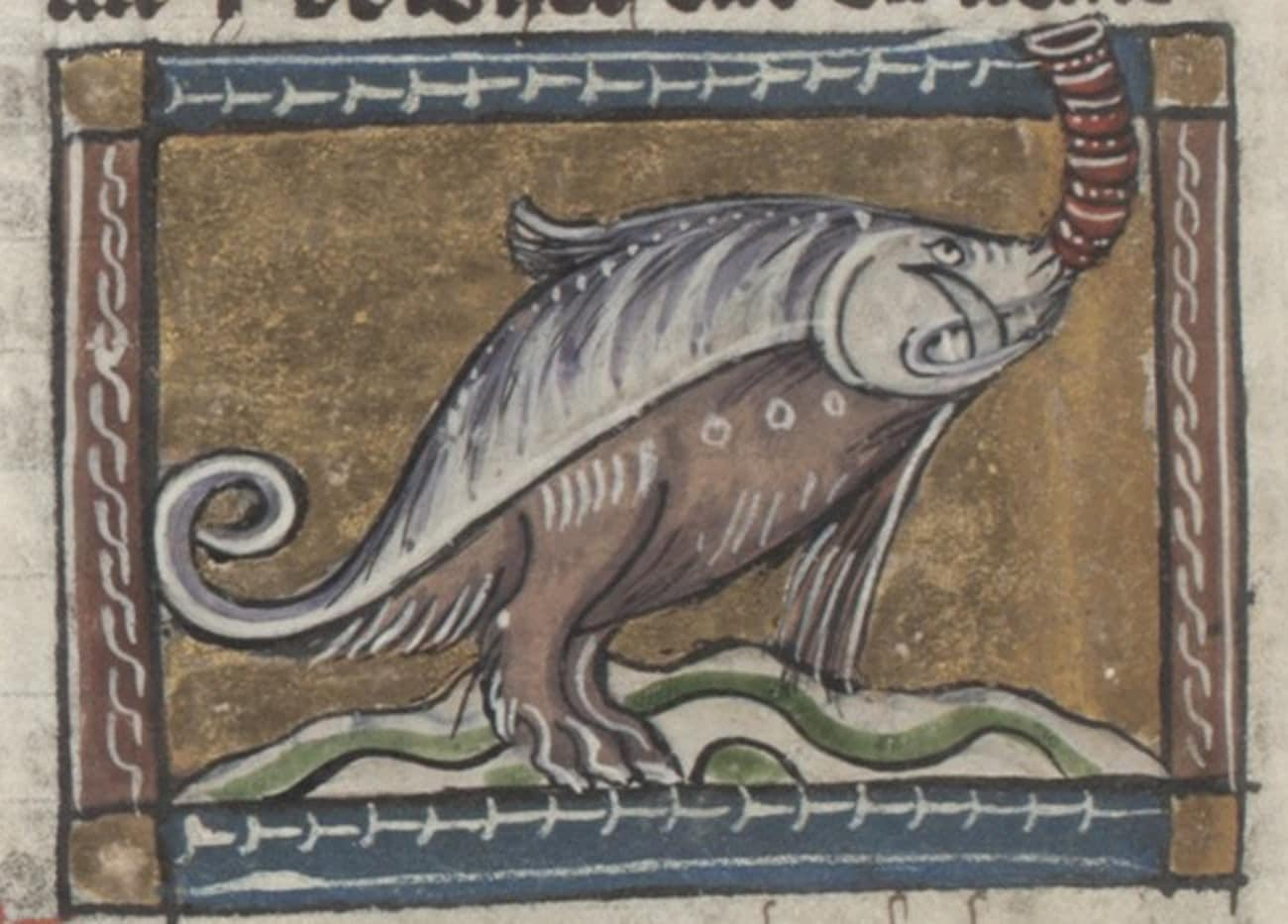 Hilarious Medieval Paintings of Animals Never Seen by the Artists