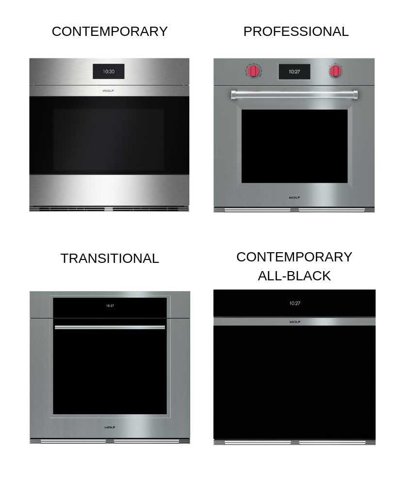 wolf wall ovens m series vs e series