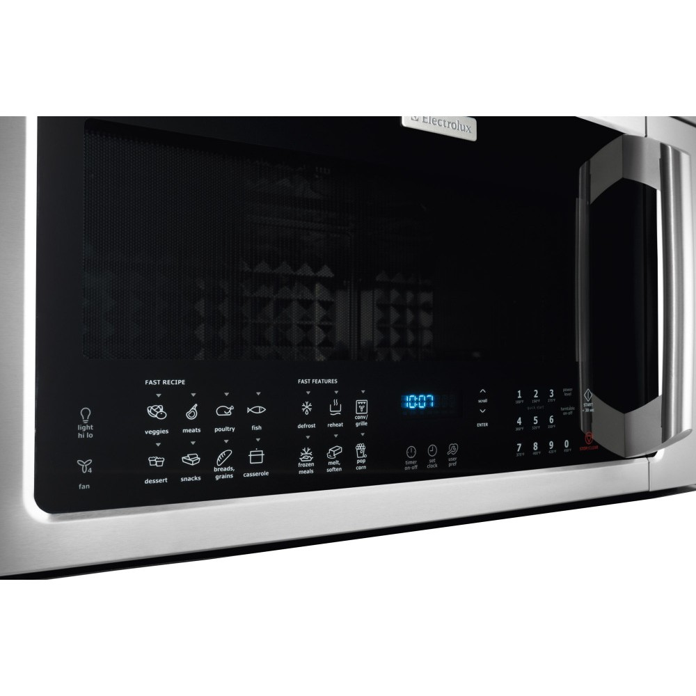 EI30BM60MS Electrolux 18 Cu Ft Over The Range Microwave