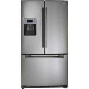 Samsung RF267AEPN 26 cu ft French Door Refrigerator with Twin Cooling System, Power Freeze, EZ
