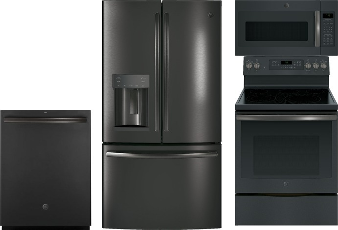 ge black slate dishwasher clearance