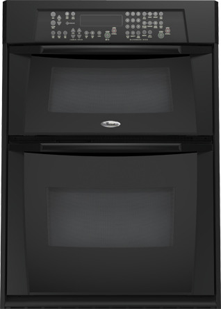 microwave combination double wall oven