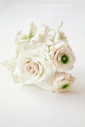 Rose and ranunculus spray