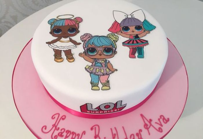 Lol Dolls Print Out 10 Option Designer Cakes By Paige