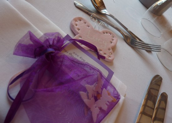 Wedding favours butterfly