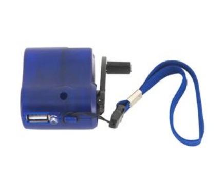 Carregador USB de Emergência Sustentável