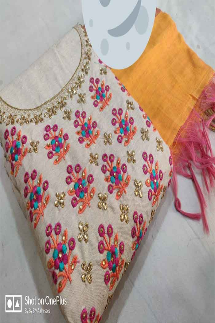 handwork Churidar suit-dsk01c