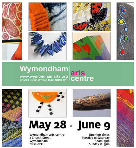 dm21 Wymondham exhibition flyer
