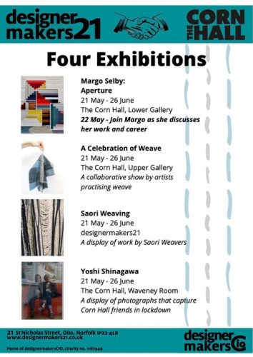 Constructed Textiles – Four Exhibitions at Diss Cornhall and designermakers21