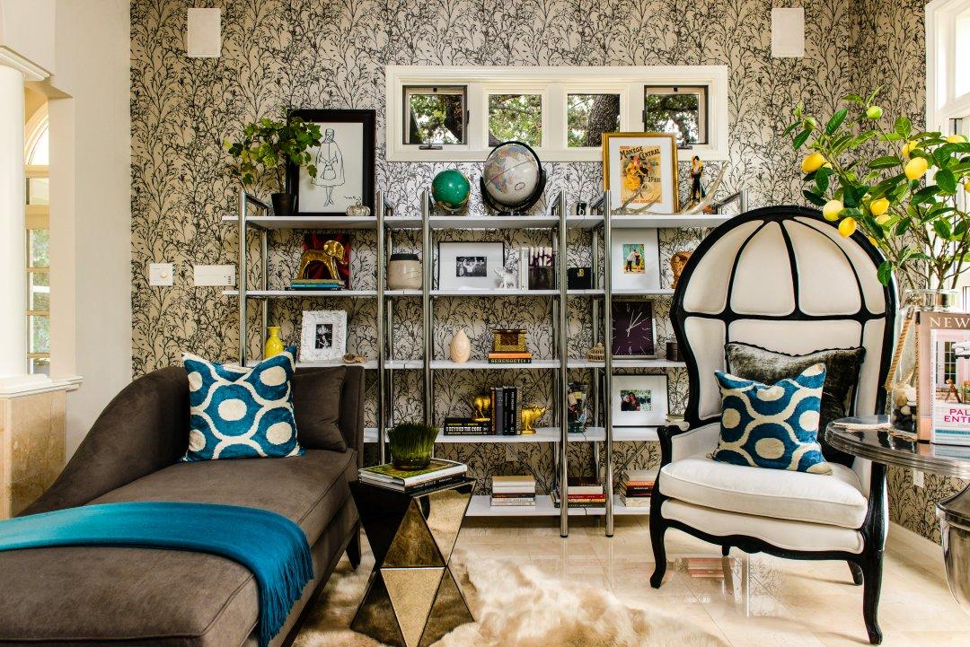 family room,Lenore Callahan.-Maria-Orozova-Home-Interior-DSC_9862-Edit, Modern Maximalism interior design trends 2018