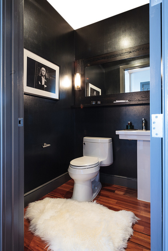 Lenore Callahan, bathroom