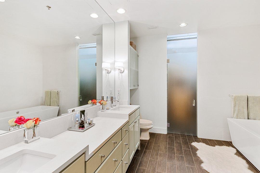 Lenore Callahan Interior Design, bathroom, safari