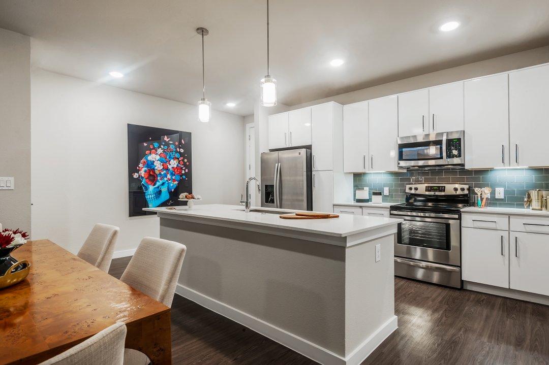 commercial, Interior Design,Tribute on the Rim, kitchen, loft