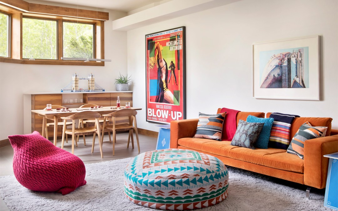Using the Color Orange In Your Home
