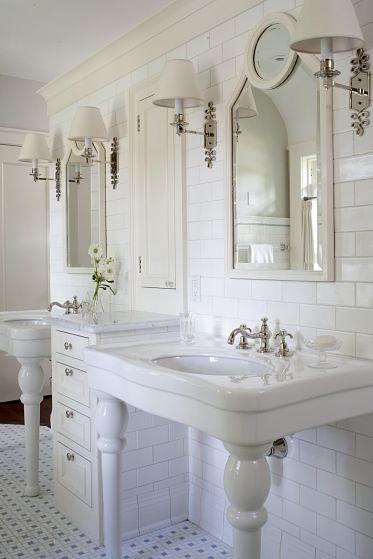 ingrid, bathroom, traditional, white