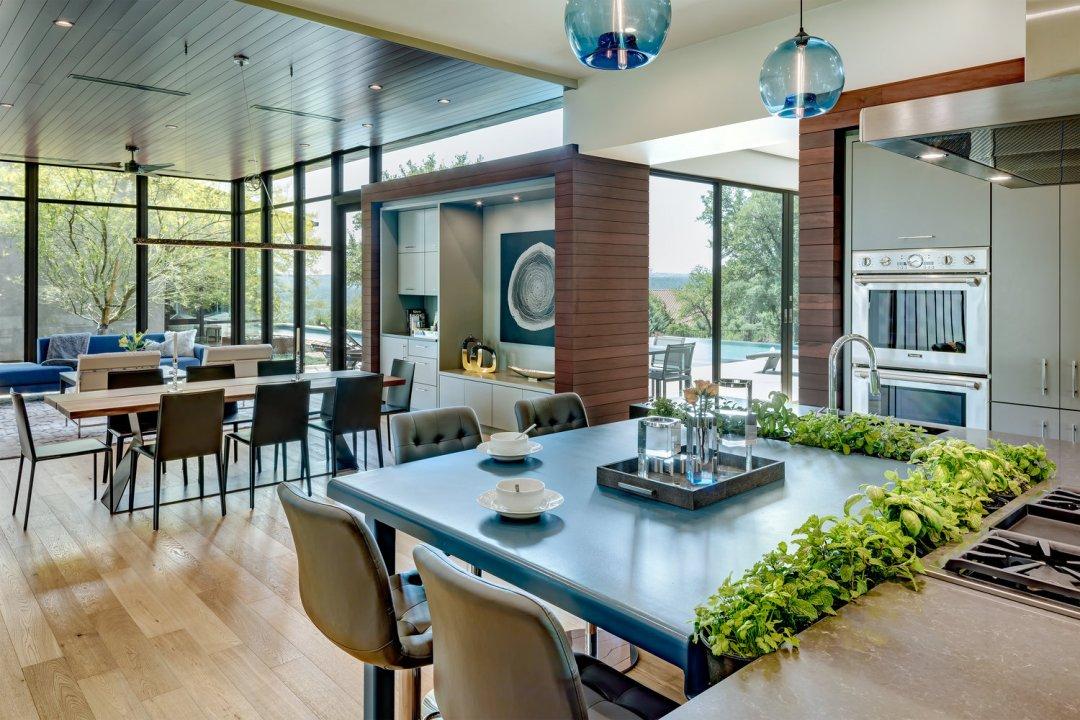 Spanish Peaks Modern, lenore, austin interior designer, kitchen