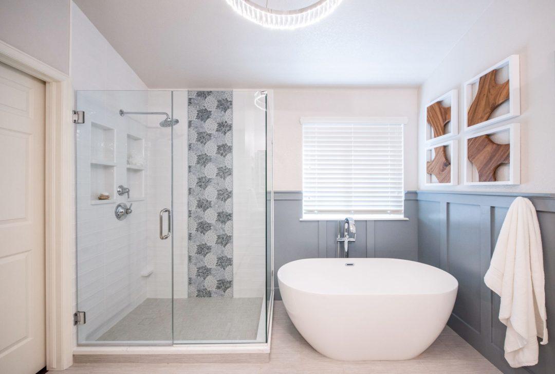 House Meraki, Elizabeth Berry, Adriele Graham, denver designer, littleton Master Bathroom