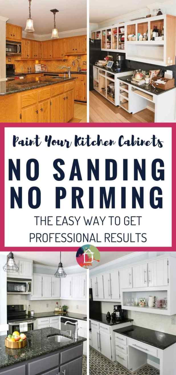 How To Clean Grease Off Painted Kitchen Cabinets | Nrtradiant.com