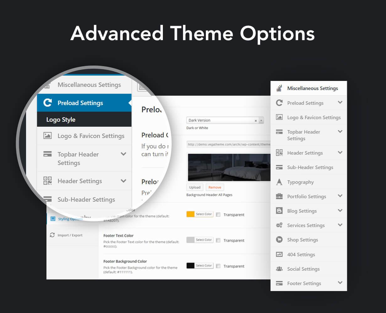 Archi - Interior Design WordPress Theme - 12