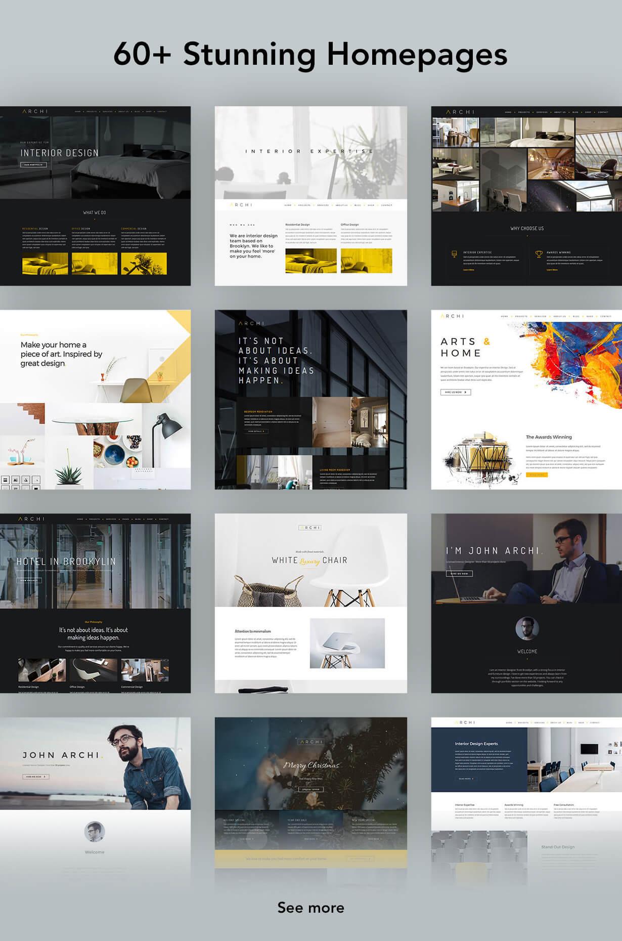 Archi - Interior Design WordPress Theme - 8